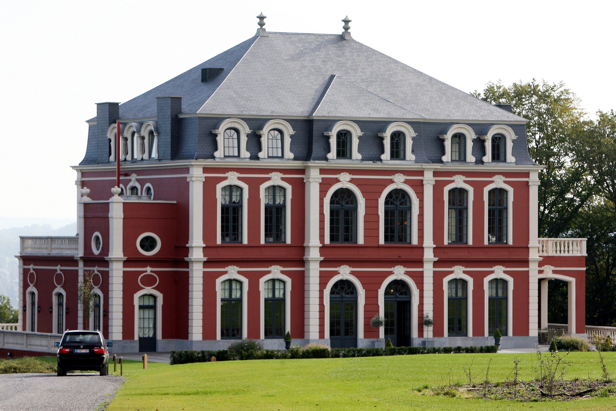 Cercle de Wallonie - site du Château Mélot, BELGA