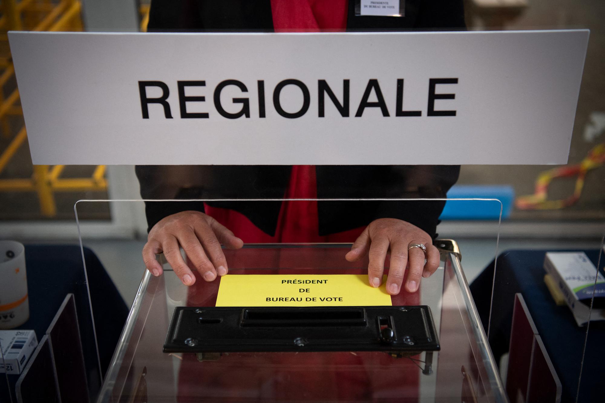 Abstention record lors des élections régionales en France ce dimanche 20 juin., BELGA