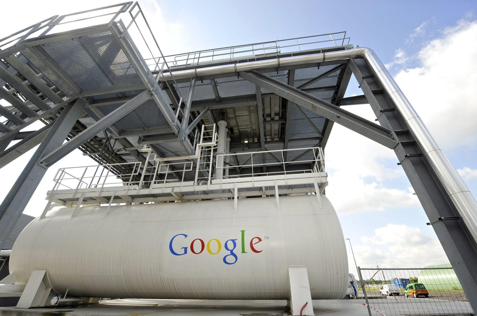 Le premier centre de données de Google à Saint-Ghislain (photo d'archive)