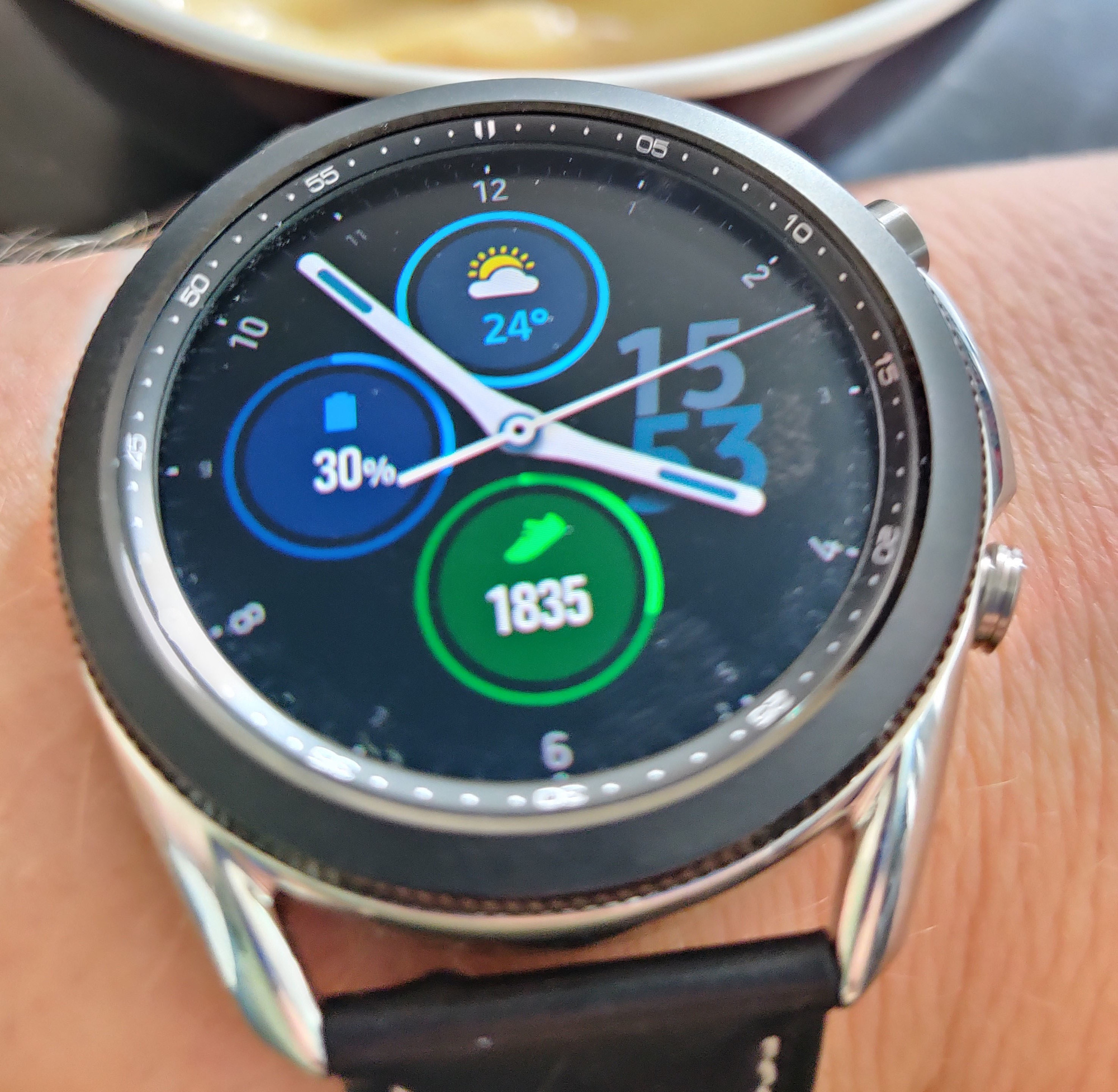 Samsung Galaxy Watch 3, PVL