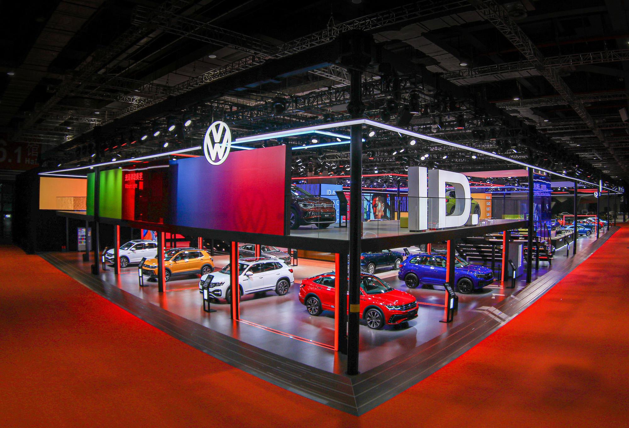Volkswagen staat sterk op de Chinese markt en pakt groots uit in Shanghai, .