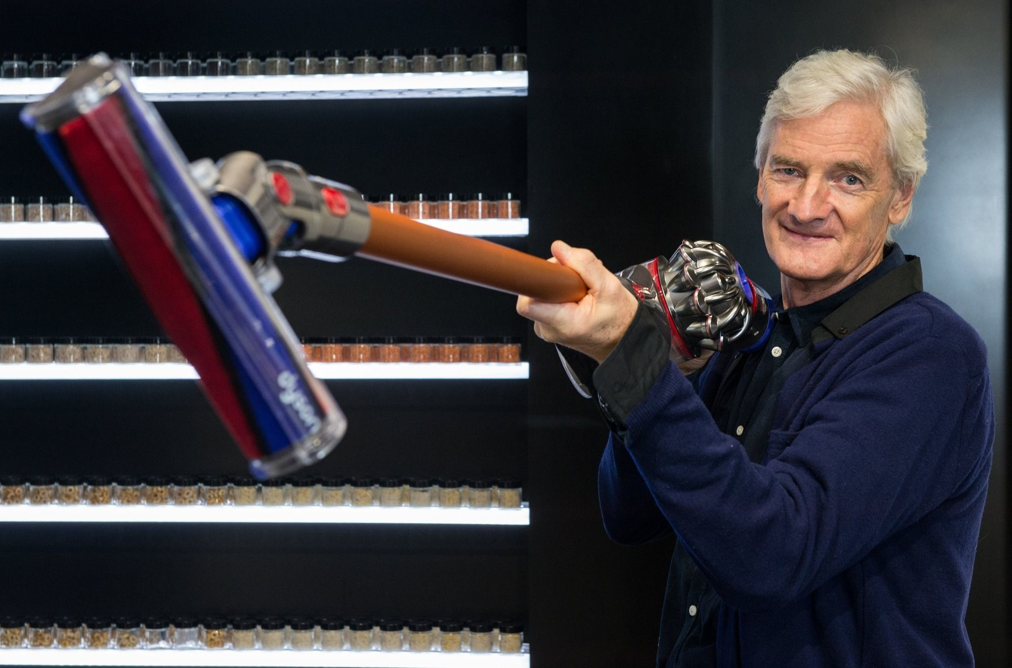 Sir James Dyson , ISOPIX - The Times/News Syndication