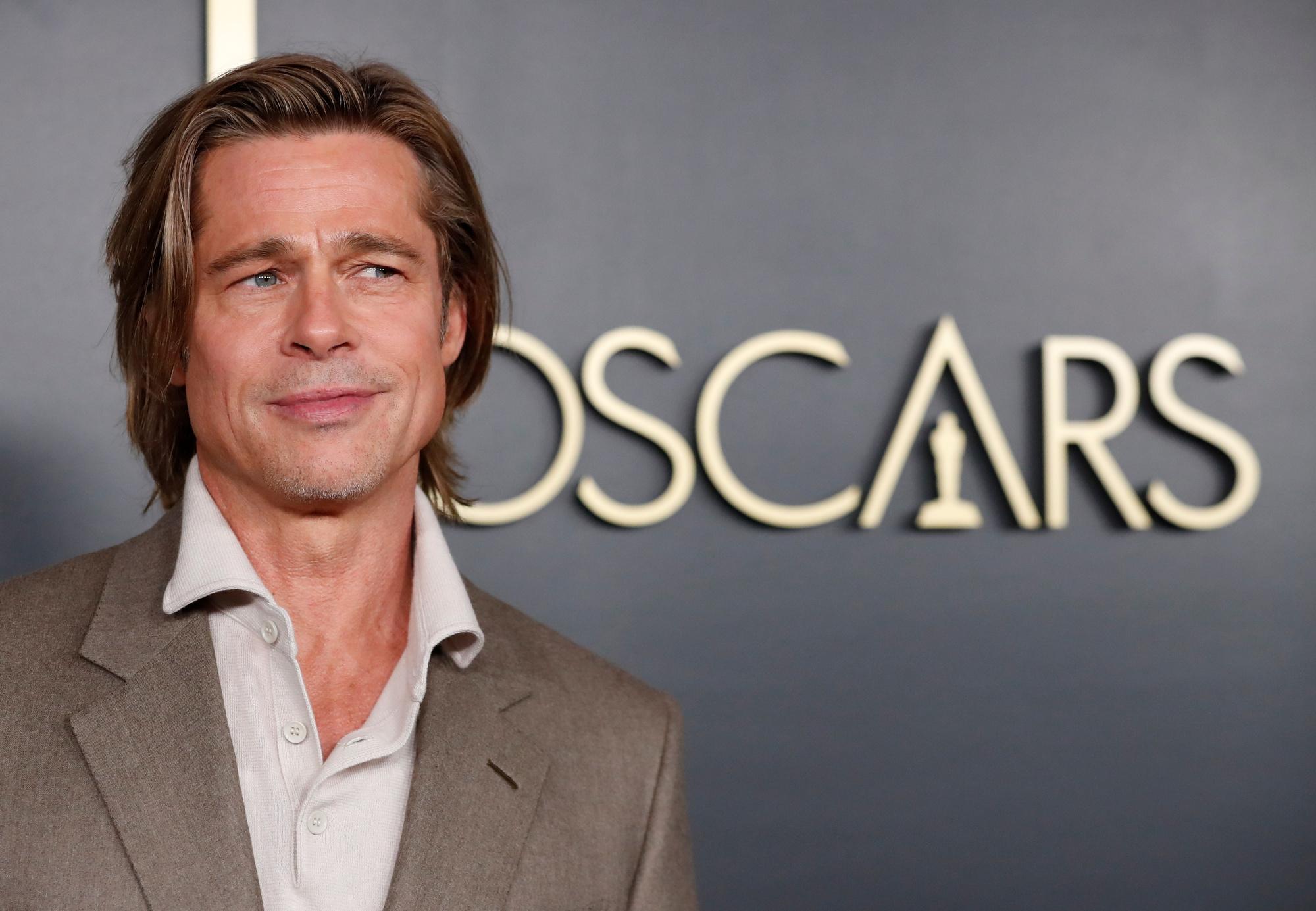 Enfin la consécration pour Brad Pitt?, REUTERS