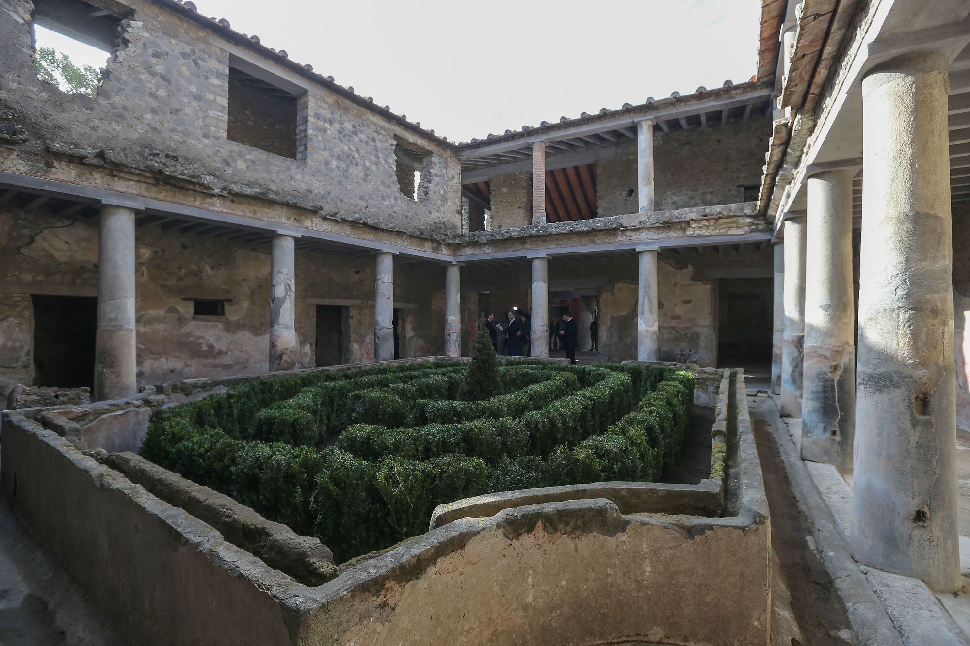 Villa des Amants à Pompéi, Getty Images