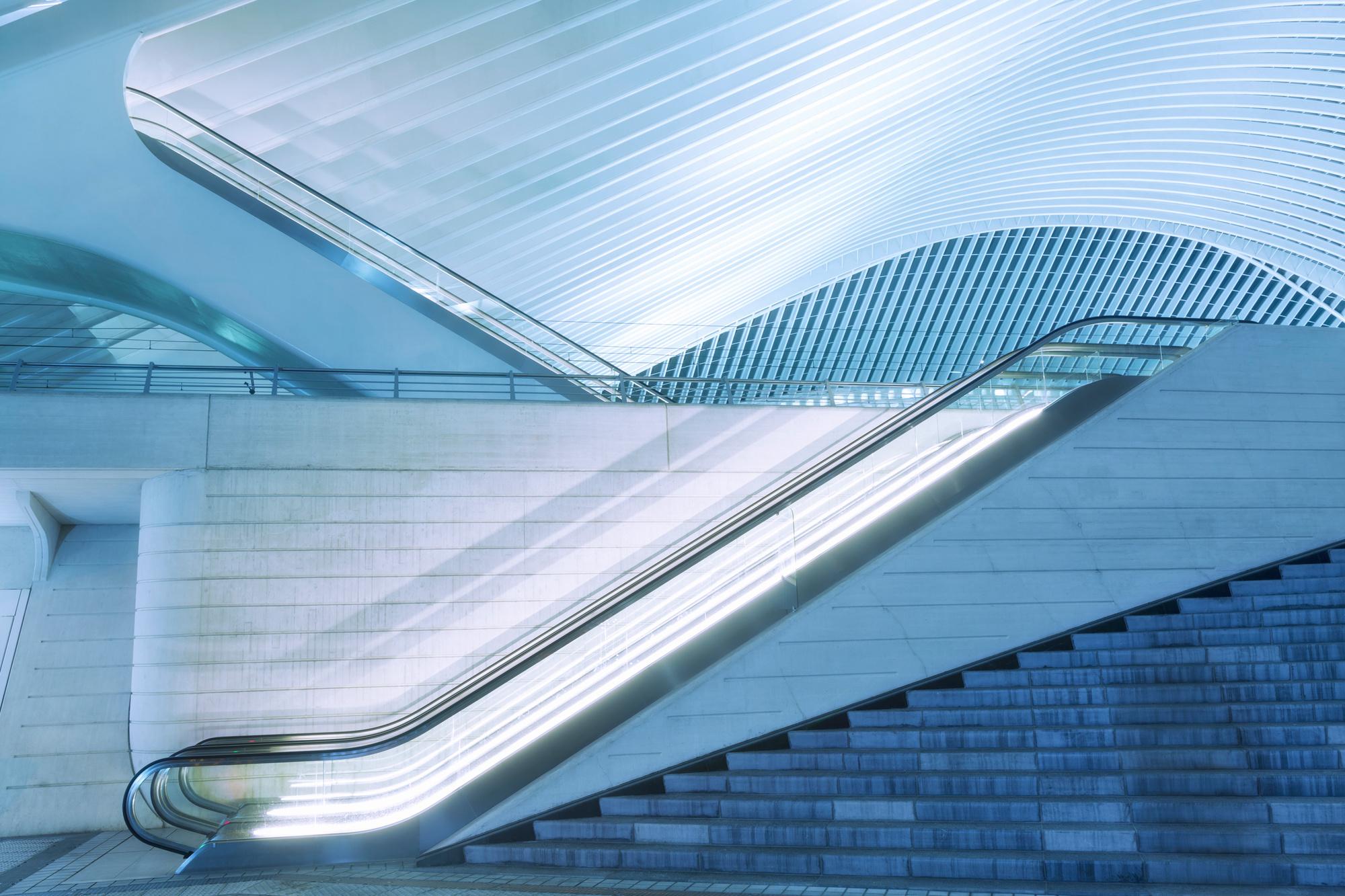 Station Luik-Guillemins, Getty