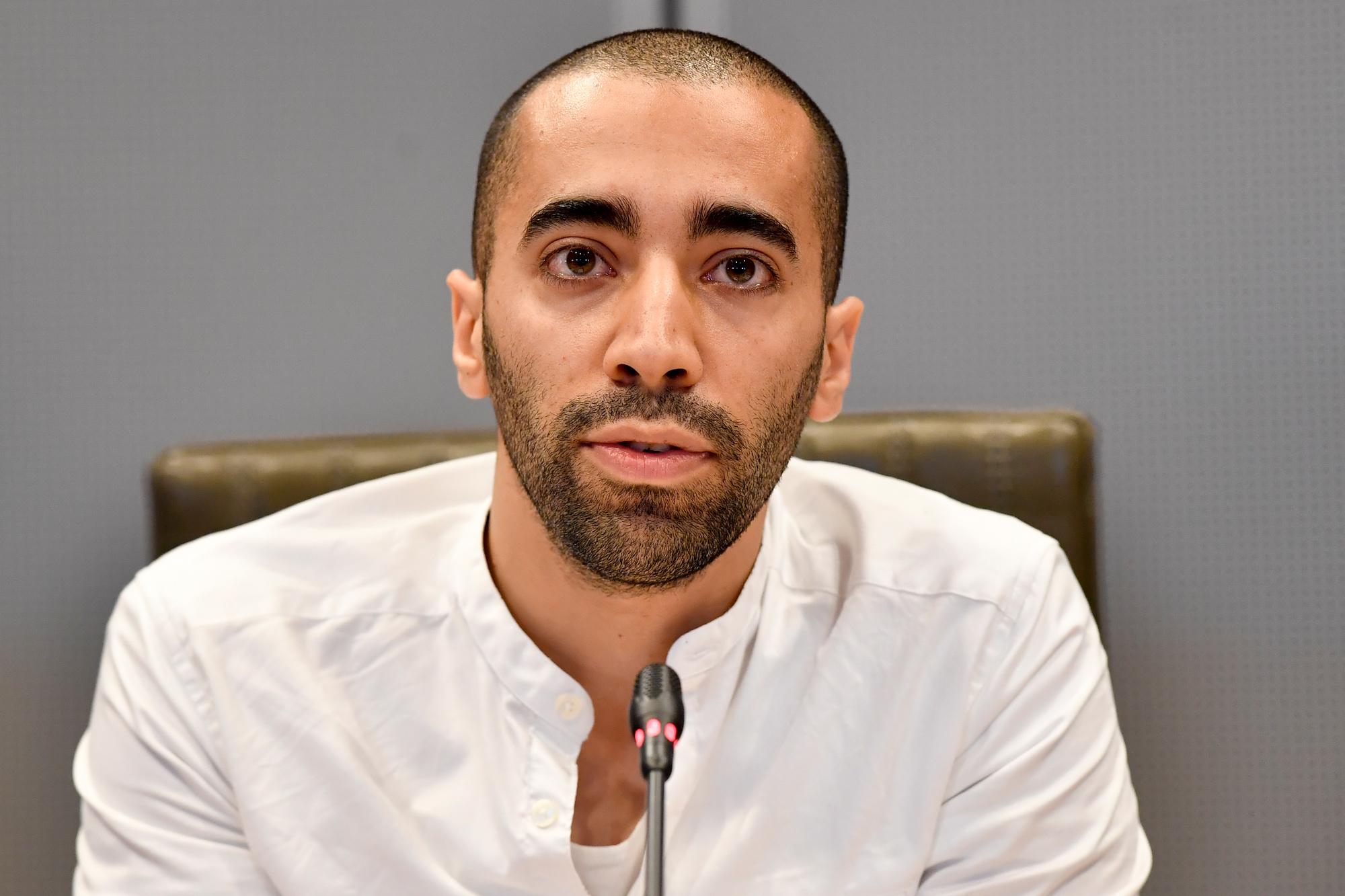 Sammy Mahdi, président des jeunes CD&V, Belga