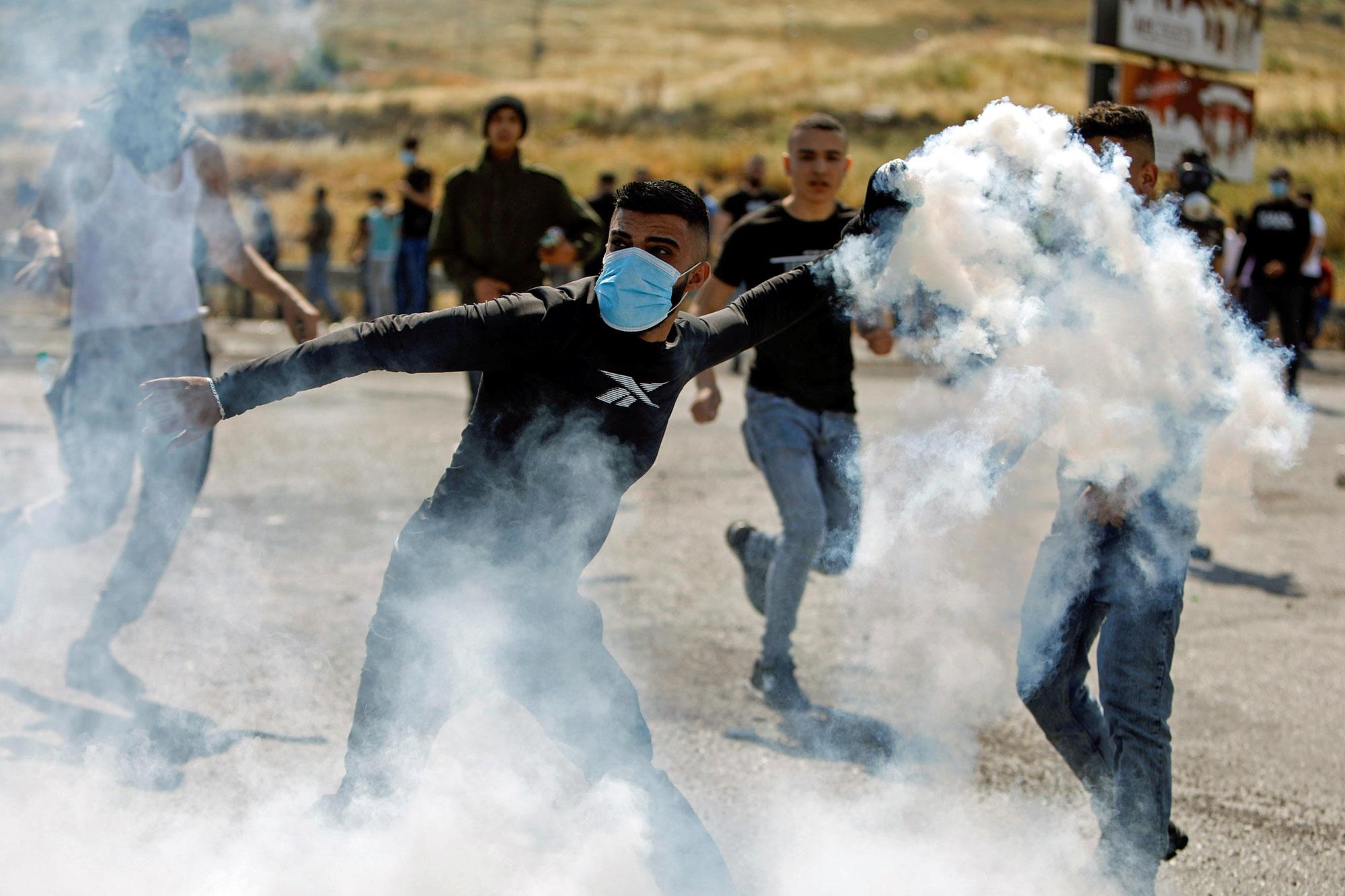 Heurts avec l'armée israélienne dans le nord de la Cisjordanie occupée, Reuters