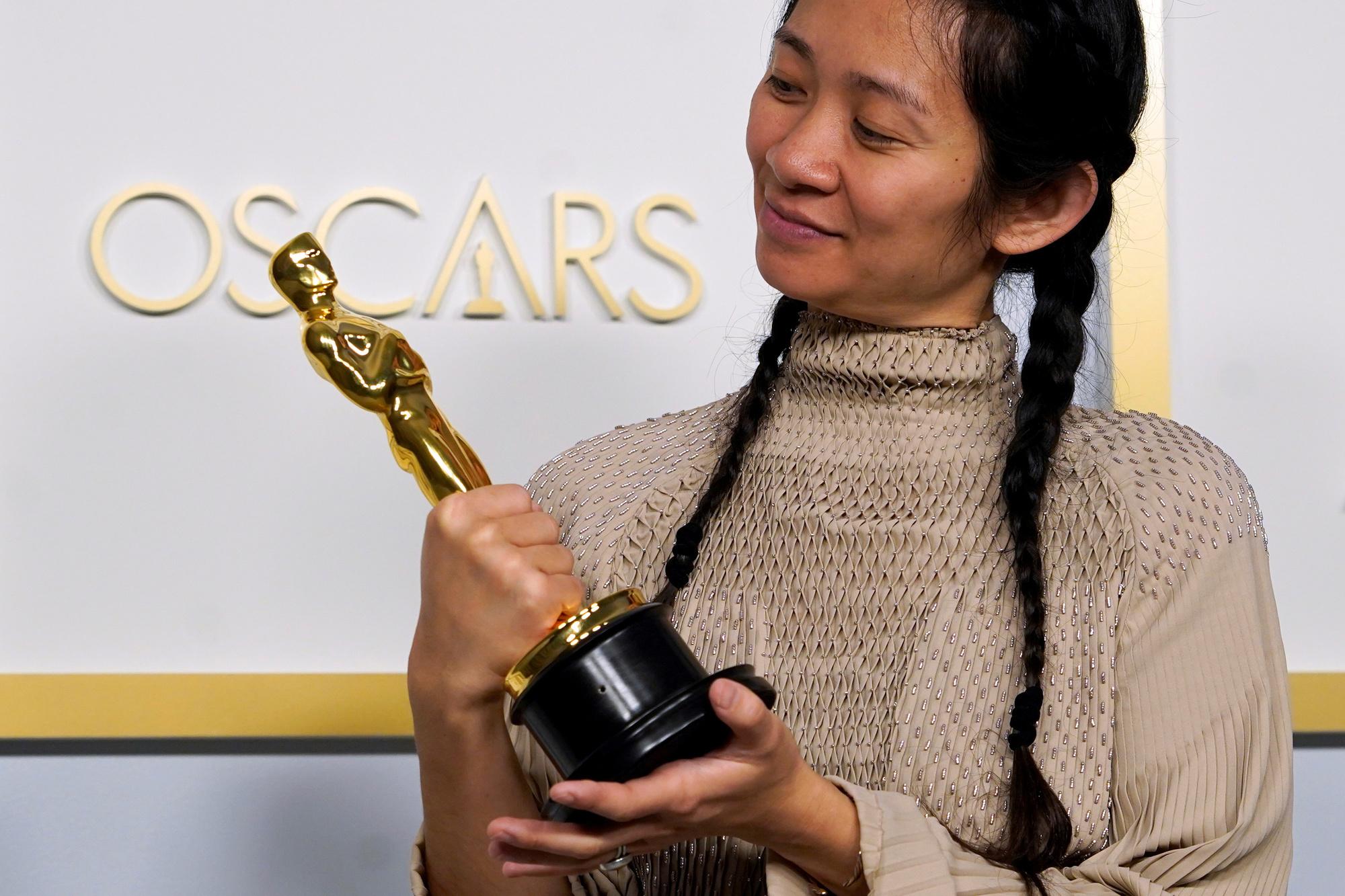 Chloé Zhao, Chris Pizzello/REUTERS