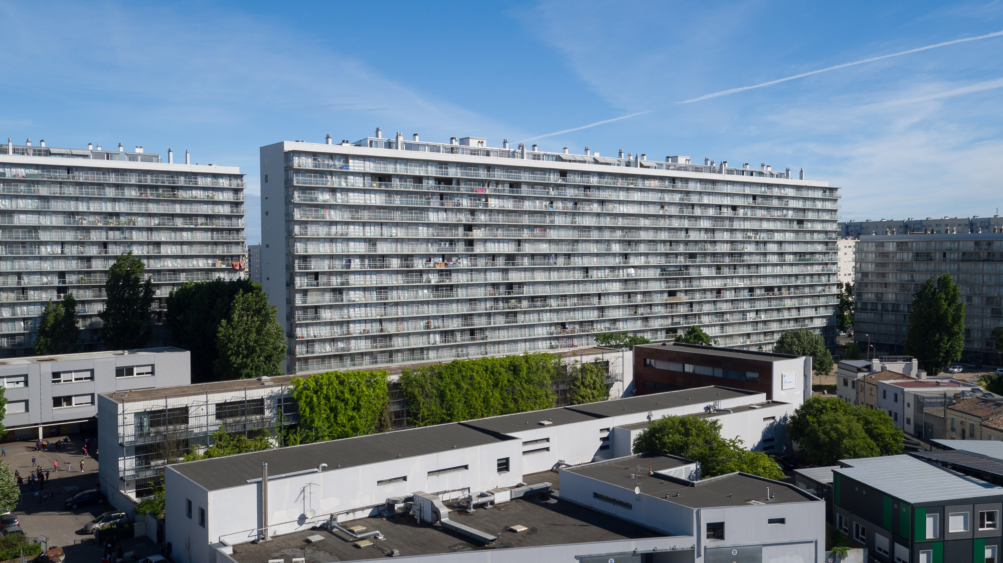Transformation of G, H, I Buildings, Grand Parc, 530 Units, Social Housing (with Frédéric Druot and Christophe Hutin), Philippe Ruault