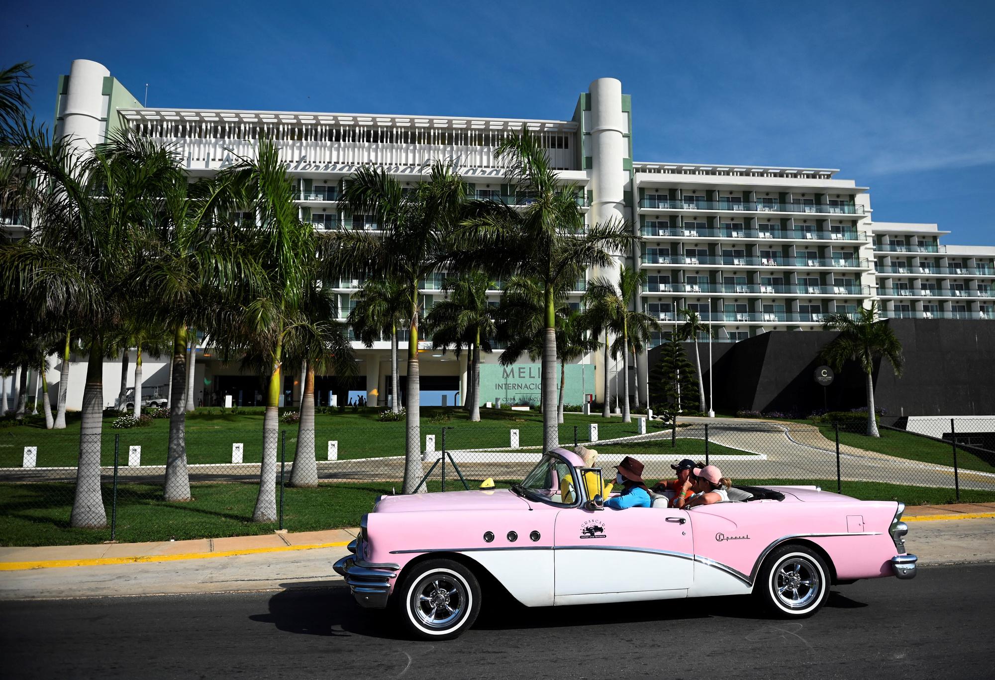 Plage de Varadero à Cuba, Belga Images
