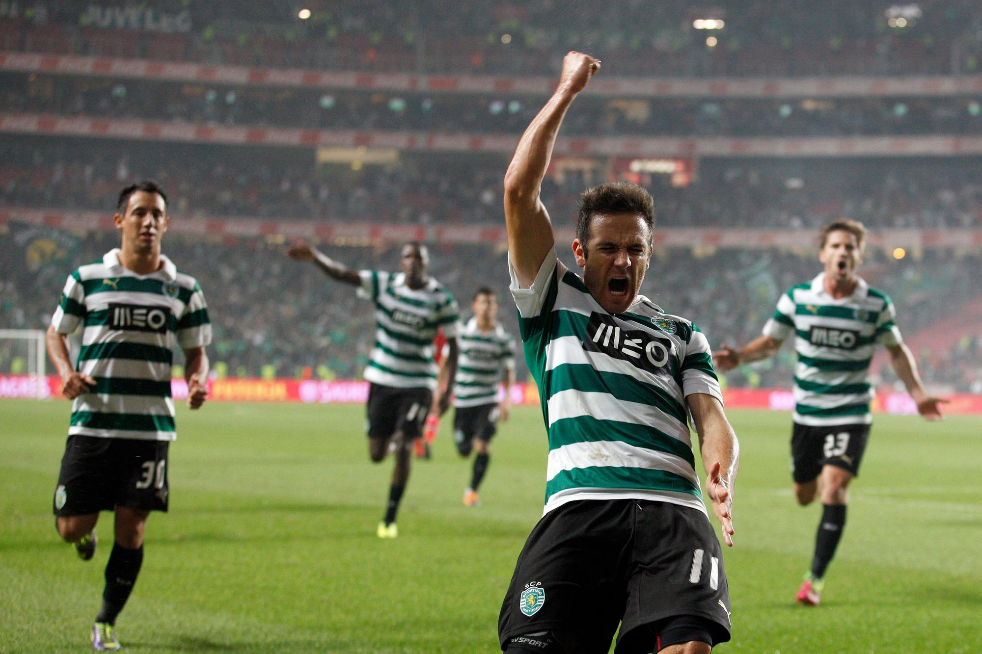 Au Sporting Portugal.
