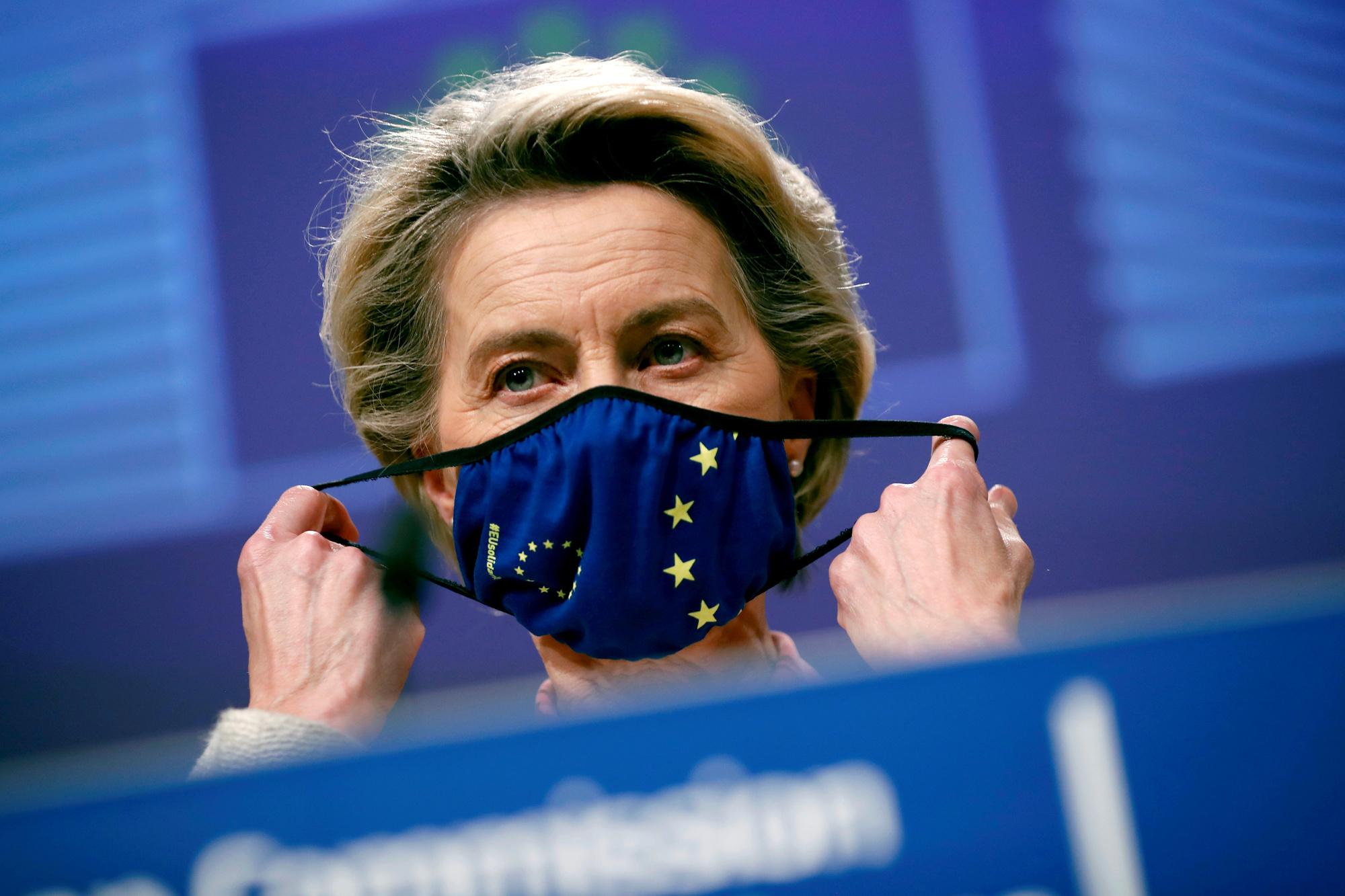 Ursula von der Leyen, Francisco Seco/REUTERS