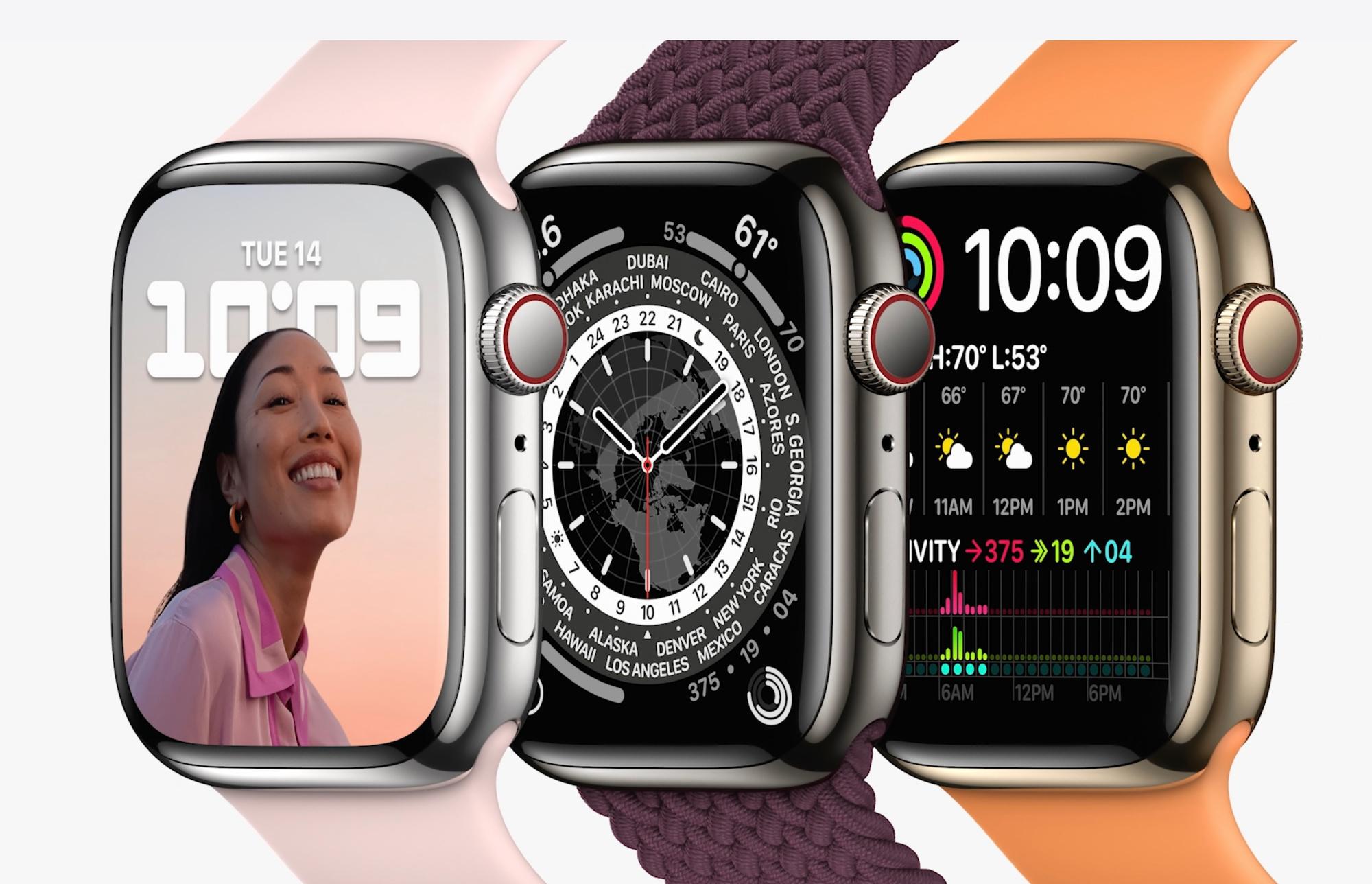 Apple Watch Series 7., Apple