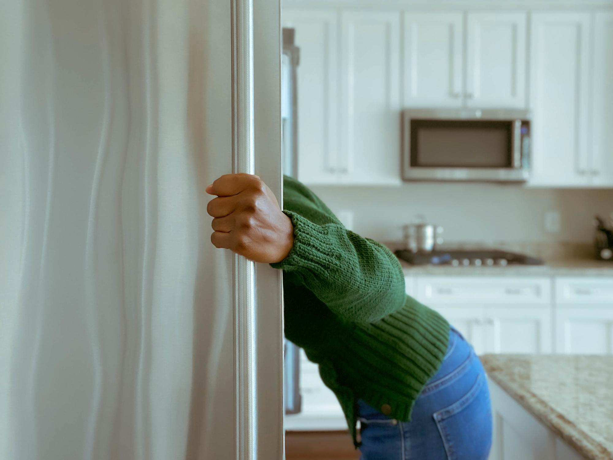 La faim émotionnelle nous mène droit au frigo., GETTY