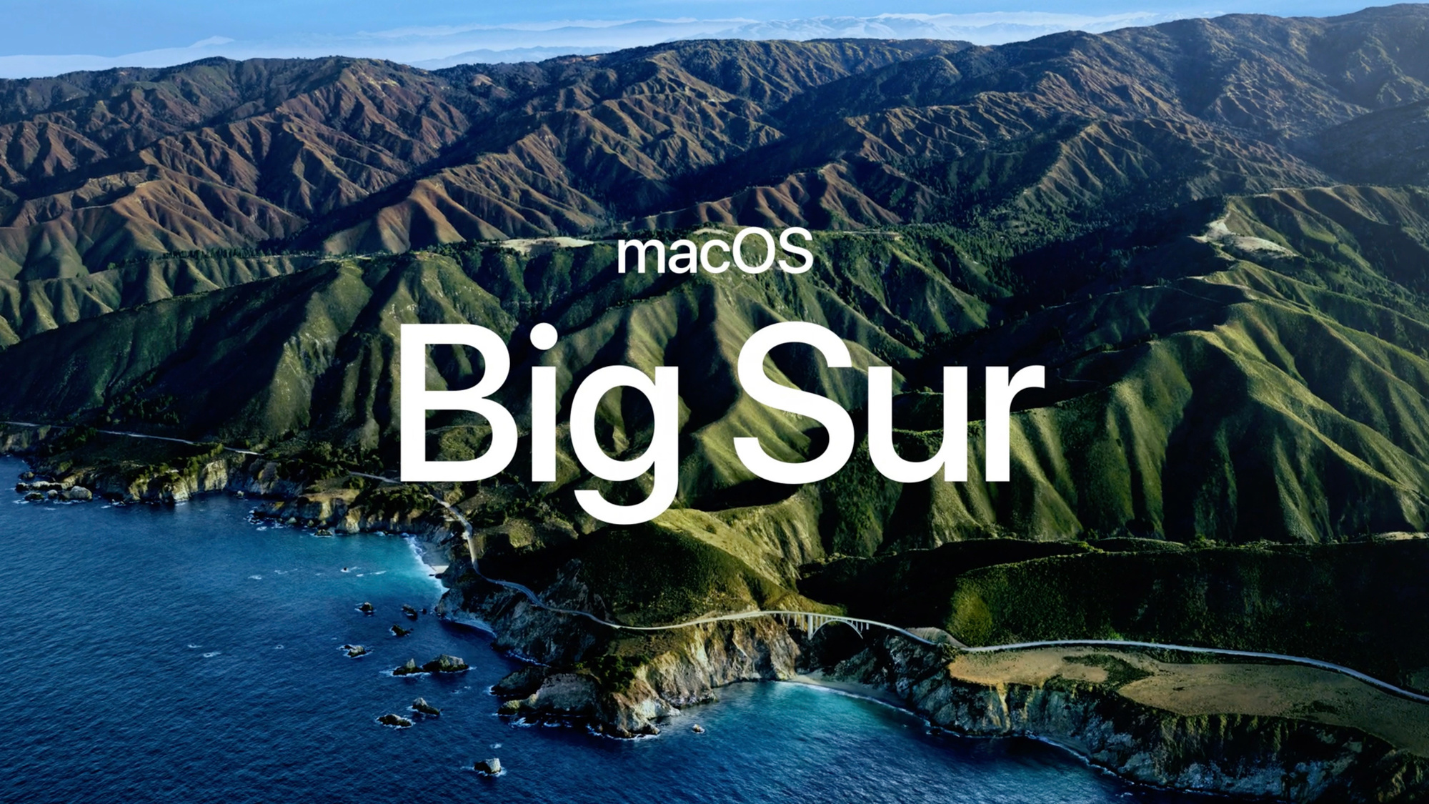 Big Sur, alias macOS 11., Apple