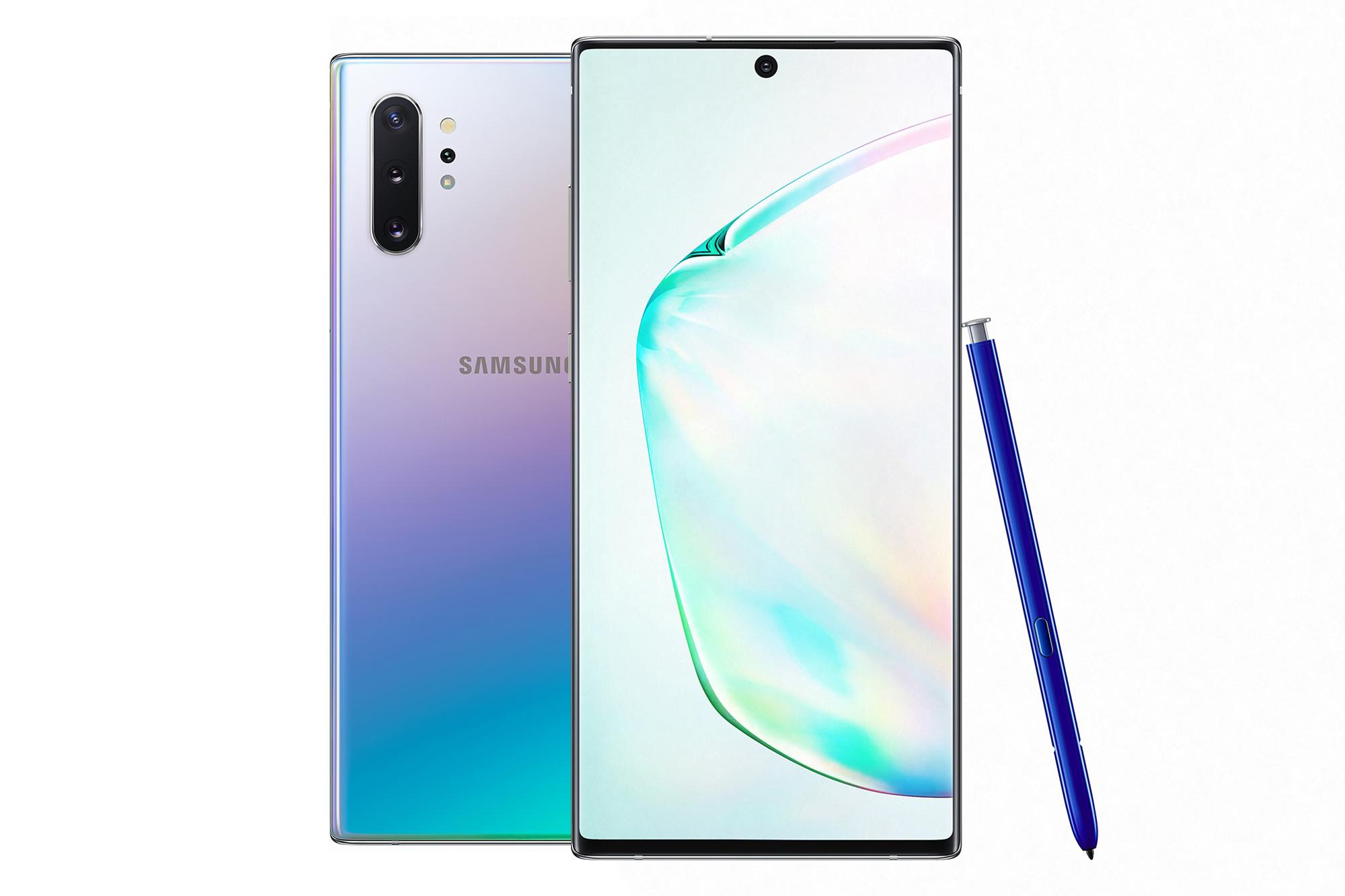Aura Glow confère à l'appareil une couleur différente selon l'éclairage ambiant., Samsung