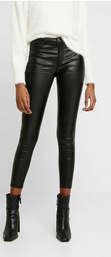 Pantalon skinny en cuir synthétique, Only, Only