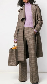 Pantalon ample en tweed, Victoria Beckham, Victoria Beckham
