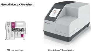 Figuur 2: alere Afinion 2 CRP-sneltest., EPI-Centre
