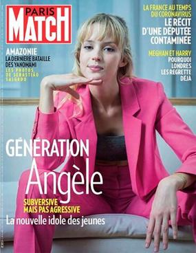 Couverture de Paris Match du 12 mars 2020, DR