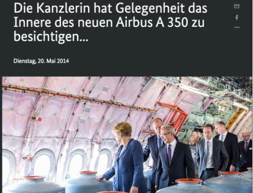 Website Duitse Bundersregierung