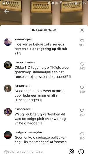 Capture d'écran TikTok