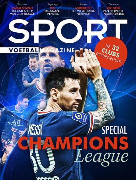 Special Champions League van Sport/Voetbalmagazine., /