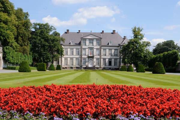 Parc du chateau d'Attre, Chateau d'Attre