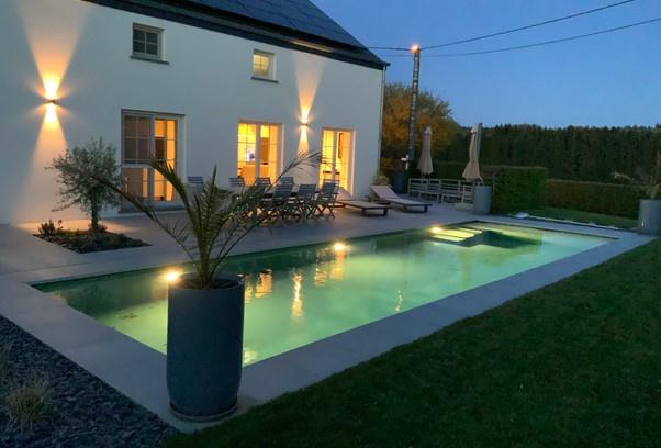 La piscine de Nicolas à Redu., Swimmy