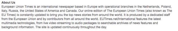 The European Union Times