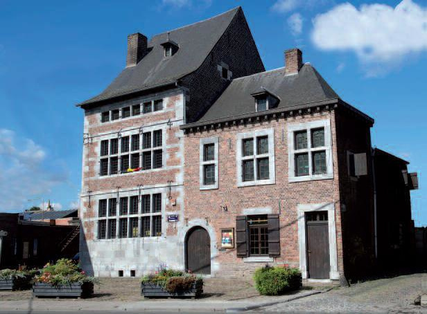 L'actuel musée de la ville de Herstal borde la Licour, place sous laquelle pourrait bien se trouver le palais..., P.G.
