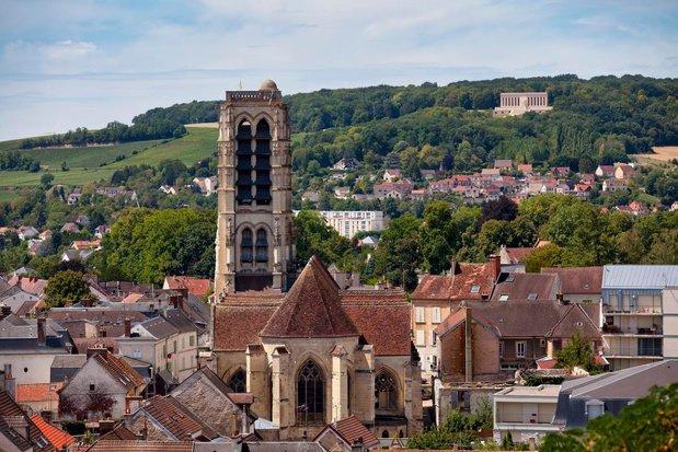 L'église Saint-Crépin, dans le village de Château-Thierry, Getty Images/iStockphoto