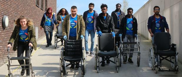 Service Citoyen, des jeunes s'engagent auprès d'organisations touchées par la crise sanitaire - Lifestyle - Le Vif Weekend - LeVif Weekend