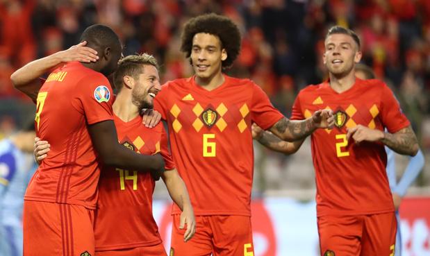 Troisième succès de rang pour la Belgique, victorieuse 3-0 du Kazakhstan - Foot national - Sportmagazine