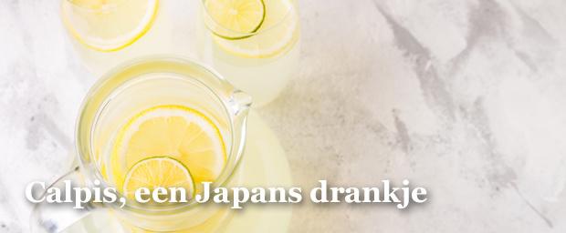 Calpis is een populair Japans drankje. Het is een bruisende limonade op basis van yoghurt. Hoe vies dat ook klinkt, zo verfrissend en lekker is het eens je het glas aan de lippen zet. , Getty