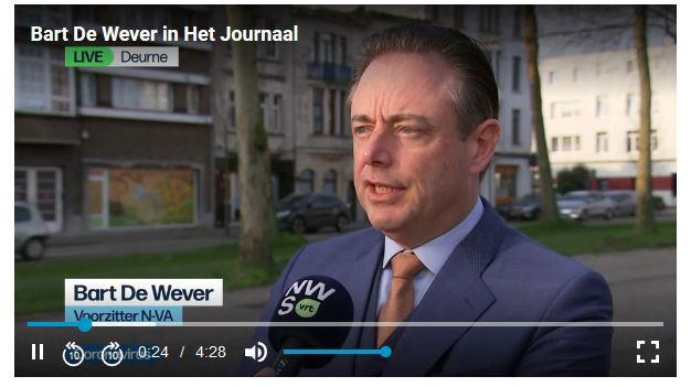 Bart De Wever, VRT
