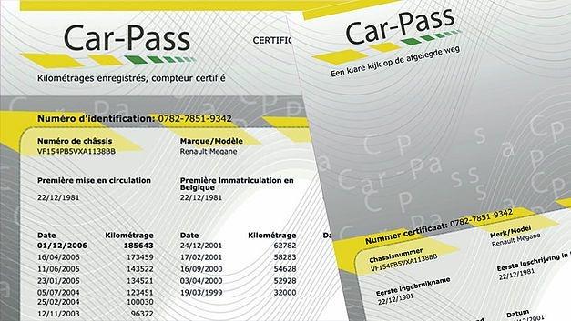 Avant de vendre une voiture, vous devez la présenter pour le contrôle technique d'occasion. L'inspecteur fera imprimer un Car-Pass d'une durée de validité de 2 mois.