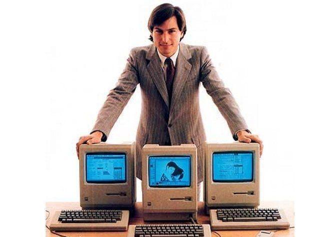 Steve Jobs in 1984, AG