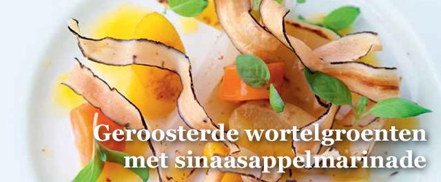 Een verrassende salade die mooi op zich kan staan als licht voorgerecht, of als veelzijdig bijgerecht tijdens een potluck dinner., Isopix