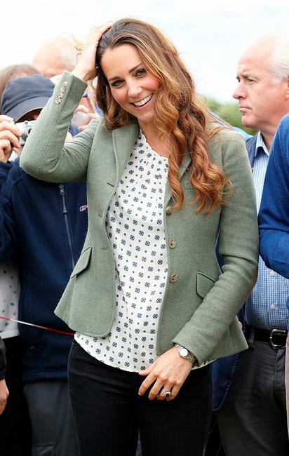 Kate Middleton lors du Ring'O'Fire Marathon, Getty