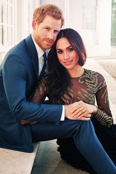 Photo officielle de l'annonce des fiançailles, AFP