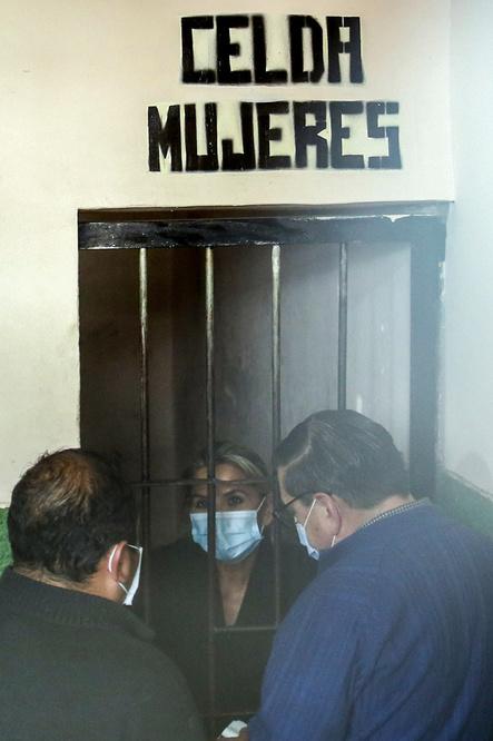 Jeanine Añez, AFP