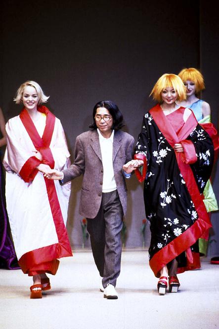 Final de défilé en 1996, Getty Images