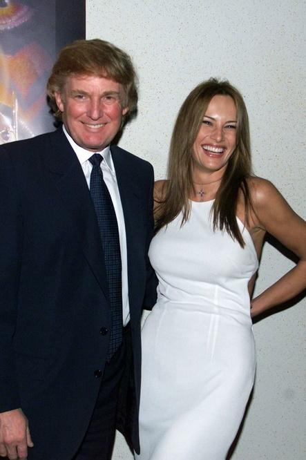 Donald Trump et celle qui était encore Melania Knauss, en 1999, Reuters