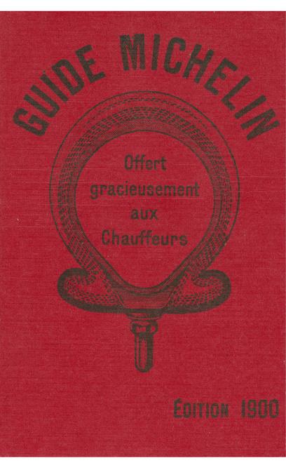 Premier Guide Michelin, publié en 1900, Getty Images
