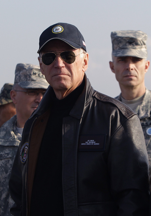 Joe Biden esprit Top Gun, quintessence d'américanité, Getty Images