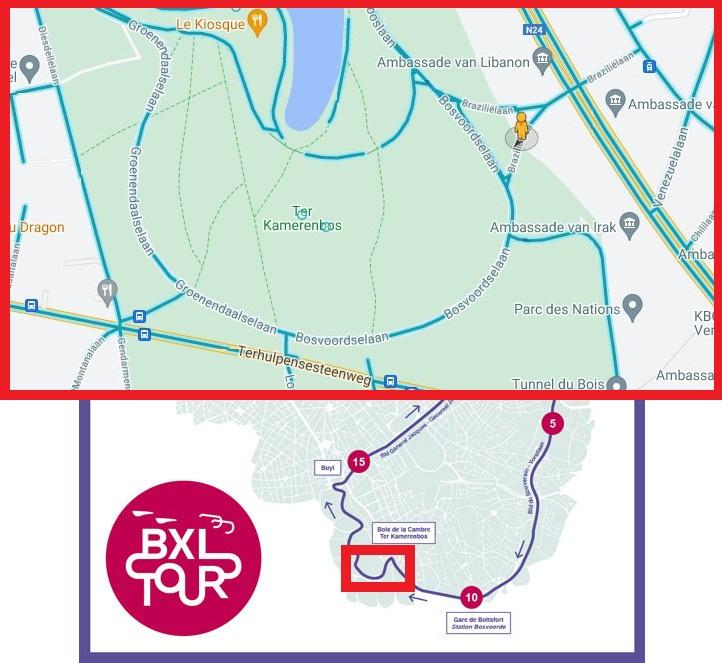 Google Maps / BXL Tour