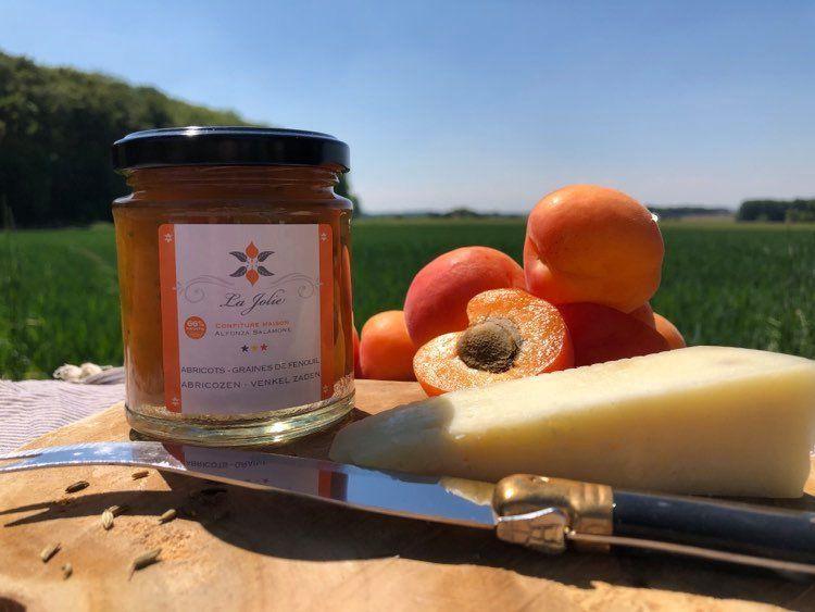 Confiture Abricot Fenouil de Jolie Confiture, DR
