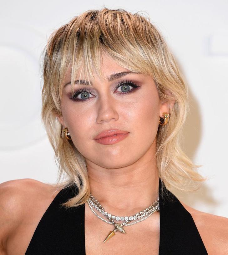 Miley Cyrus, célèbre représentante de la coupe mulet, Getty Images