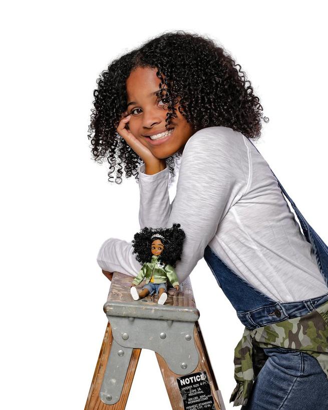Kid Activist et son modèle, Mary Copeny, alias Little Miss Flint, DR